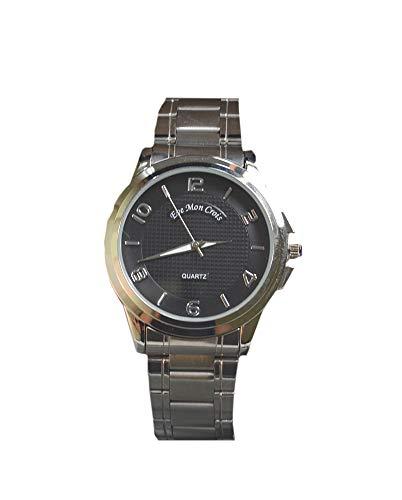 EVEMON Crois No.11928 Herren-Armbanduhr Wasserdicht Quarz Analog Grande Schwarz
