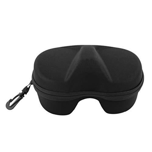 Heraihe Schwarz Mikro-Faser Small & Convenient & Wasserdichte Maske Scuba von Karton-Kasten für GoPro Tauchmaske Unterwasser-Aufbewahrungsbehälter