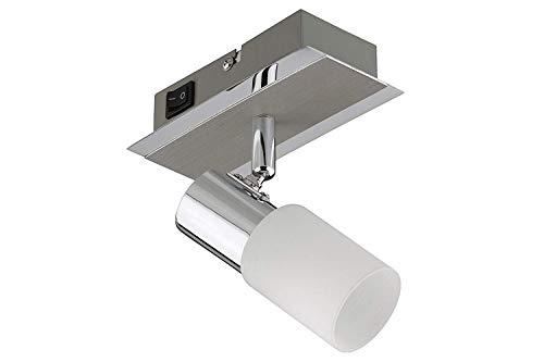Trango-Lámpara de techo (1LED pared leuche de baño espejo lámpara de techo...