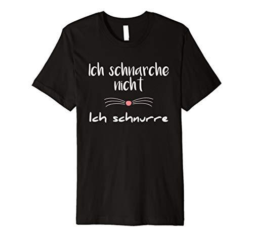Ich Schnarche nicht Ich Schnurre Schlafen Shirt | Geschenk