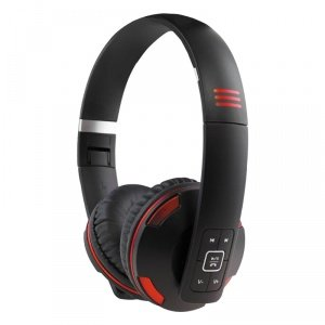 PSYC Wave X1Stereo Bluetooth On-Ear Headphones with Built-in Mic (Comfort Wave)