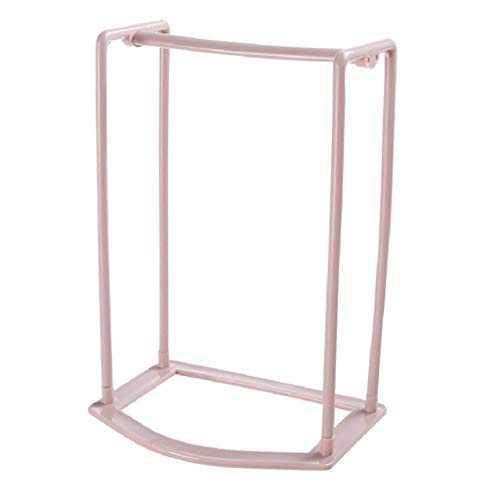 Hängelagerregal, Chshe❤❤, Regal, Elegantes Design, Aufbewahrungsorganisator, Aufhänger, Aufbewahrungsständer, Farbenfroher Aufhänger (Pink) -