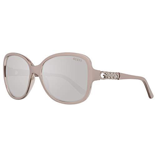 Guess Damen Sun GU7452 57C-59-17-135 Sonnenbrille, Beige, 59