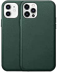 iPhone 12/12 Pro / 12 Pro Max leather magnetic case, flexible genuine leather