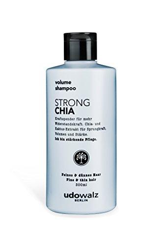 Udo Walz Hairfood Volumen Shampoo Strong Chia, 1er Pack (1 x 300 ml)