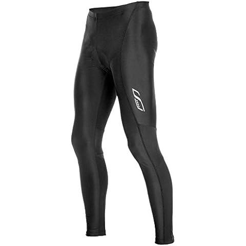 Lameda Pantaloni Ciclismo Lunghi Gel Imbottiti a Compressione da Uomo Professionali Per MTB(S)
