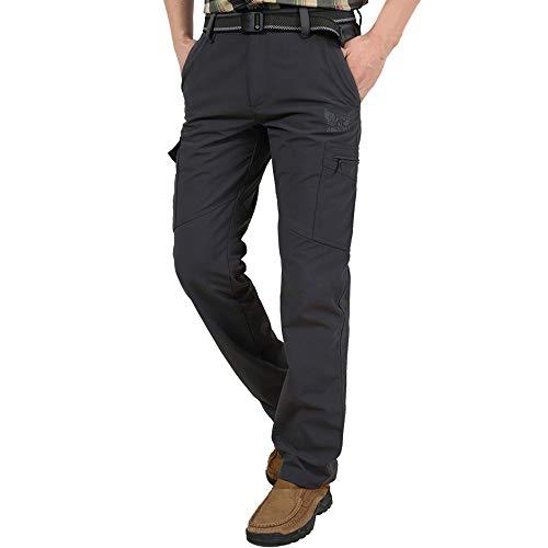 Herren Hosen Lässige Relaxed Hose schnell trocknende Hosen atmungsaktive Sport Fitness Hose Komfortable Hose(t_Grau,XXXXL)