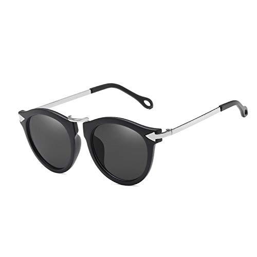 NauyGnol Katzenaugen-Sonnenbrille für Damen, Vintage-Optik, Blumen Gr. Einheitsgröße, C2
