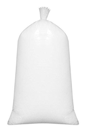 Schaumstofffüllung Für Kissen - ZOLLNER Füllmaterial, 100% silikonisierte Polyesterhohlfasern, 1kg,