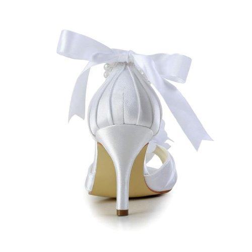 Sposa Nozze Scarpe 83906 Scarpe Donne Nozze Jia Le Da Per Bianche wXX6rqAU