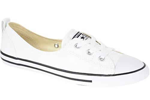 Converse Damen Chuck Taylor All Star Ballet La Sneaker, Weiß (White C547167C), 36 EU