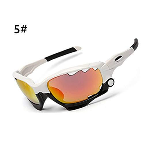 ZKAMUYLC SonnenbrilleOutdoor-Sport Mountainbike MTB Fahrrad Brille Motorrad Sonnenbrillen Eyewear Neue Männer Frauen Radfahren Brille