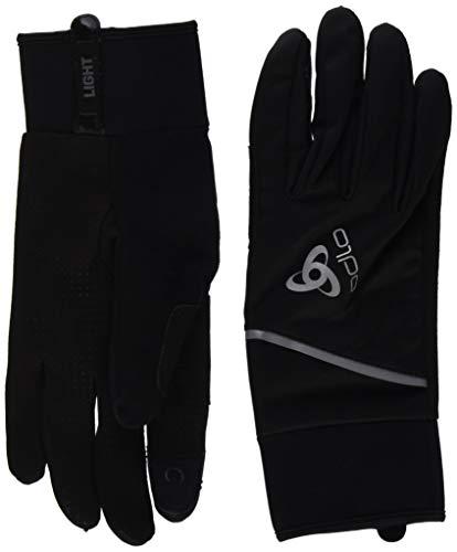 Odlo Windproof Light Handschuhe, Schwarz, L