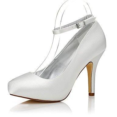 Zormey Les Talons De Femmes Automne Hiver Chaussures Chaussures Teignables Confort Club Mariage Soie Bureau Extérieur &Amp; Partie De Carrière &Amp; Tenue De Soirée Stiletto Heel Buckle US7.5 / EU38 / UK5.5 / CN38