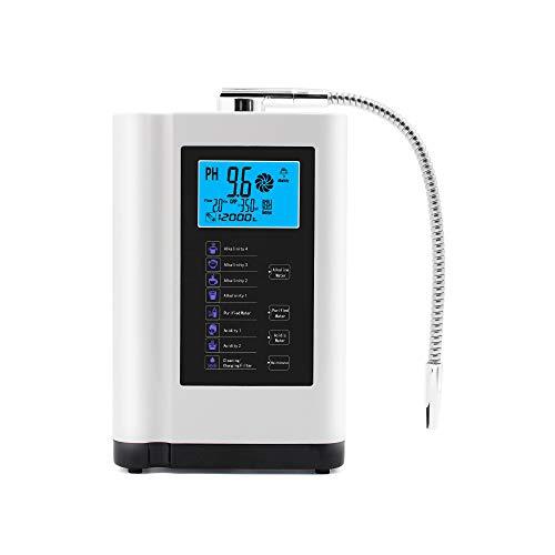 Ning Wasserstoff Wassermaschine Wasser Ionisator Generator Selbstreinigungsfunktion Hohe Konzentration Gro/ße Kapazit/ät 1,5 L Gesundheitspflege-Cup