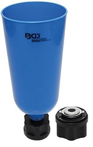 BGS Huile Entonnoir avec adaptateur à baïonnette pour VAG, Mo/BMW/Porsche,
