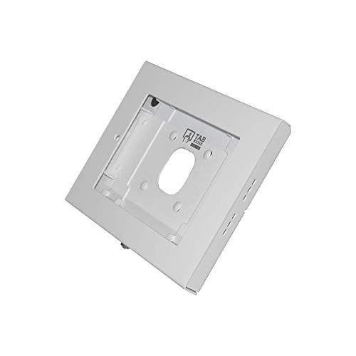 Tabkiosk Wall Classic, diebstahlgeschütztes, sicheres Tablet-Gehäuse für die Wandmontage für iPad Air, Air 2, 9.7'', Tastensperre, weiß, TWC-Air-W (Ipad-gehäuse)