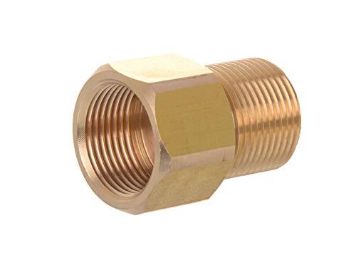 Hochdruckreiniger & Hydraulische Messing Stecker X Buchse Kupplung m22F X M22M