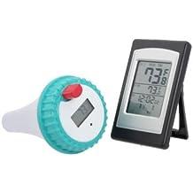 Inalámbrico Digital LCD Car Pool Termómetro transmisor/receptor