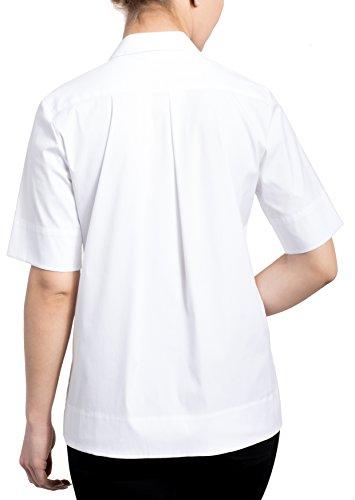 Eterna Chemisier à Manches Courtes 1863 Premium Uni Blanc