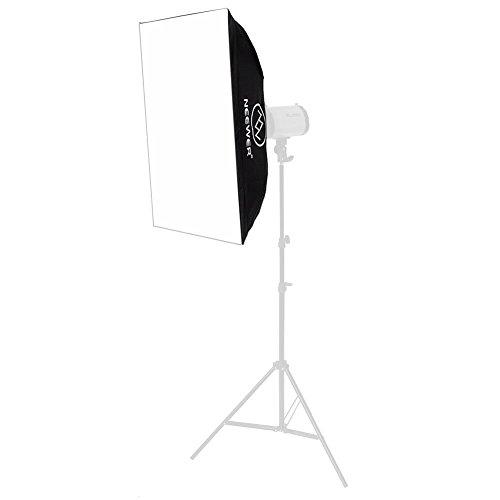 Neewer 50x70cm Softbox Fotografica Quadrata con Borsa per Luce di Studio Neewer Godox 300DI 250DI 300SDI 250SDI