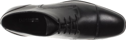 Florsheim Jet Cap Ox Cuir Oxford Black