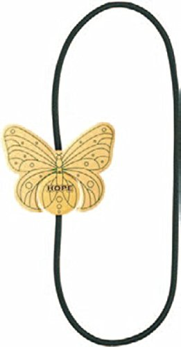 Preisvergleich Produktbild Artisan Bookmarks - Schmetterling / Hope: Kunstvolles Leseband mit Magnetschließe