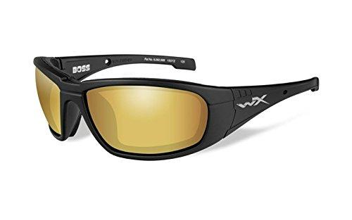 Wiley X Boss Sonnenbrille Schwarz
