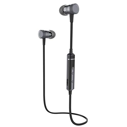 CHOULI H6 Kopfhörer Mit MIC Sweatproof Wireless Bass Headset Für Gym Sport Black & Grey