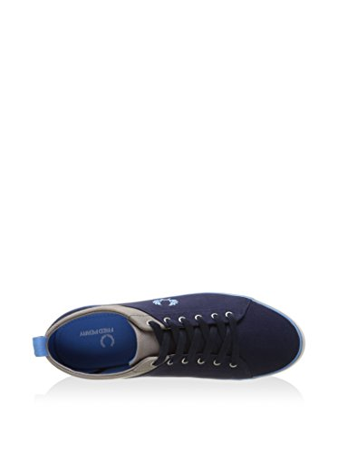 Fred Perry Hallam Twill, Sneaker uomo Blu
