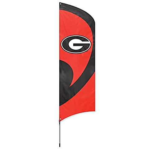 Party Animal NCAA Georgia Bulldogs College Tailgating Flag