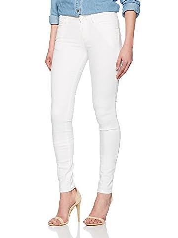 Guess Damen Jeans W72AJ2D2G10, Weiß (Stay White.), 38 (Herstellergröße: 25)