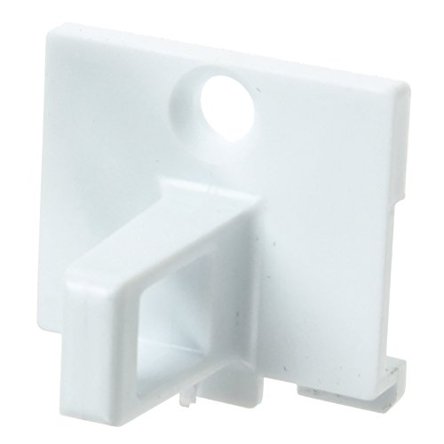 Spares2go puerta/tope plástico gancho bloqueo INDESIT