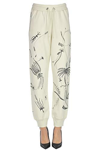 Dries van Noten Fleece Jogging Trousers Woman Cream L int.