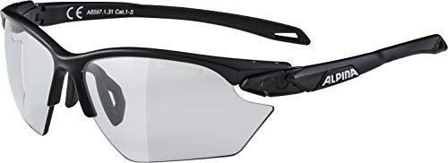 ALPINA Erwachsene Twist Five HR S VL+ Sportbrille, Black matt, One Size