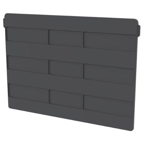 akro-mils 41270quer Breite Trennwand für 30270Akro Bin, schwarz, 6er Pack