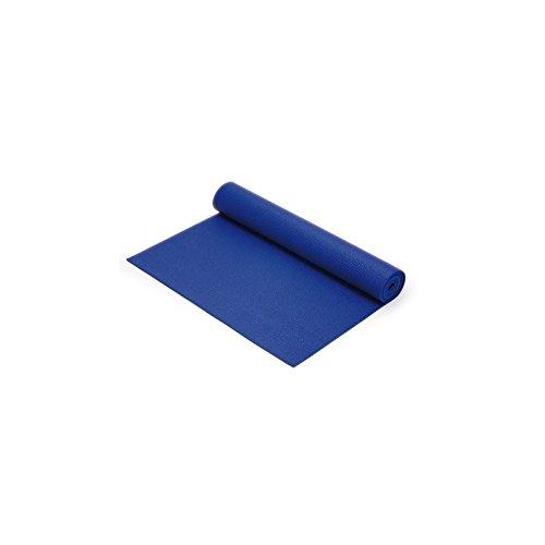 Tapis Yoga / Bleu (60*180*0.4 cm)-34154B- Certifié France Medical Industrie