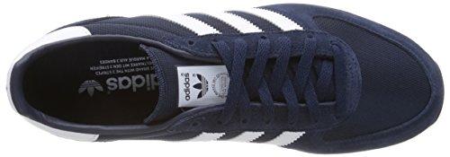 adidas Zx Racer, Baskets Basses Homme Bleu (Collegiate Navy/Ftwr White/Core Black)