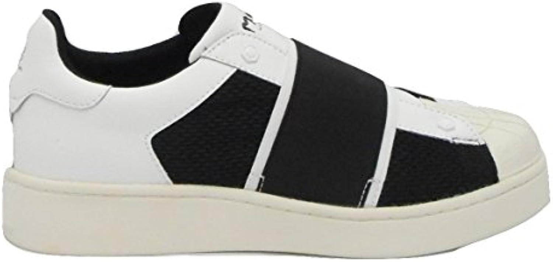 MOA   Herren Sneaker schwarz Bianco 43
