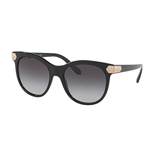 Bulgari BVLGARI Damen Sonnenbrille 0Bv8185B 501/8G, Schwarz (Black/Gray), 55