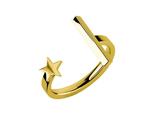 Liebeskind Berlin Damen-Ringe mit Ringgröße 52 (16.6) LJ-0141-R-52 (Coole Ringe Frauen)