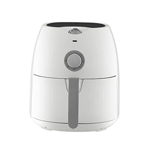Fritteuse Home Fries Brotmaschine Automatische Multifunktions Intelligente No-Smoke 4.5L Große Kapazität Elektrische Fritteuse Schwarz Weiß