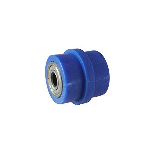 Preisvergleich Produktbild Kunststoff Kettenrolle Radführung 8mm Für YZF KTM RMZ KLX CRF Motorrad Blau