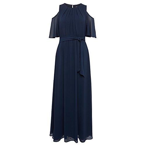 Tom Tailor für Frauen Dress Naomi Campbell Off-Shoulder Kleid real navy blue