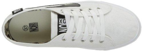 No Box  Alma,  Sneaker donna Bianco (Blanc (White))
