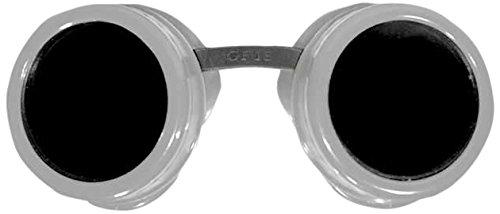 Zoelibat 84042341.112 - Safety Googles Goggles, Fun wie Schutzbrille, Silber/schwarz