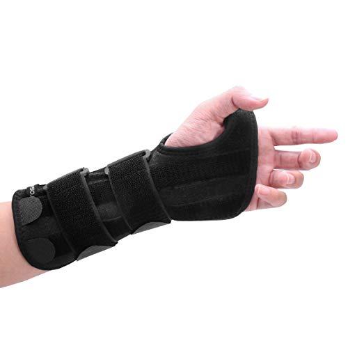 HEALIFTY Handgelenkschiene - Handgelenkbandage Schlingen zur Handgelenk Einstellbar Bandage Schiene Handgelenk zur Karpaltunnelsyndrom Schiene Schmerzlinderung