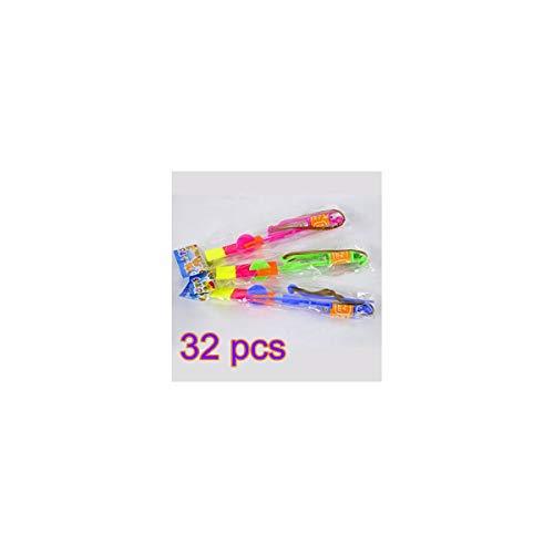 LED rotierende Rakete Spielzeug 32 Packungen