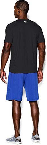 Under Armour Men's Fitness Und Tank Ua Tech Ss Tee Short-Sleeve T-Shirt Schwarz (Black)