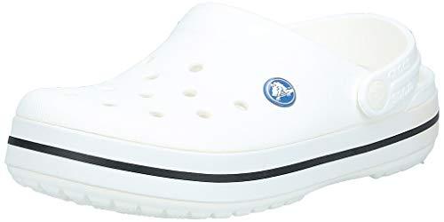 Crocs Sabots Mixte Adulte, Blanc (Bourgogne/Blanc 616), 42/43 EU